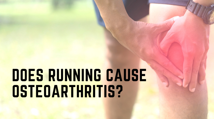 Running with knee osteoarthritis and blog title