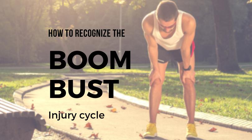 Injured runner facing the boom bust injury cycle