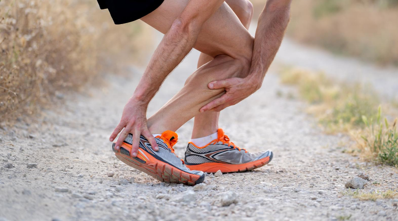 Running runner with injuries achilles and knee pain