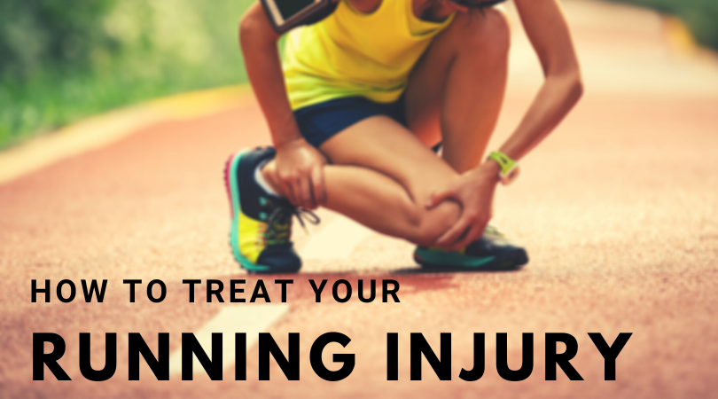 runner managing injuries with blog title