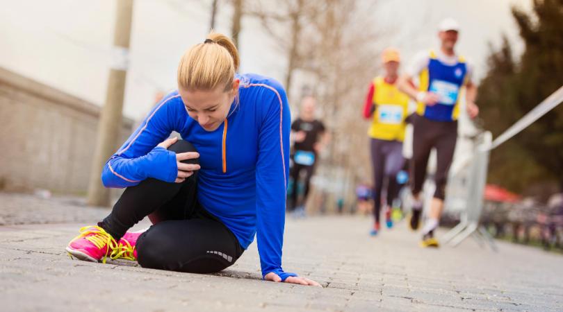 runner running while injured