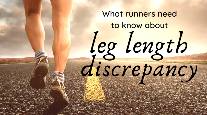 Running with leg length discrepancy with blog title